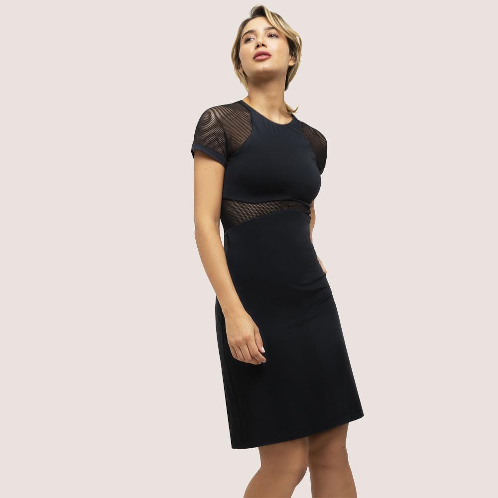 Vestido Black PRETO